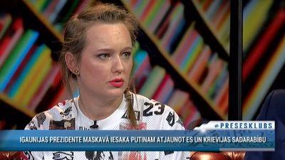 Rakovska: Neesam kungi savā zemē. Visu laiku dzīvojam ēnā