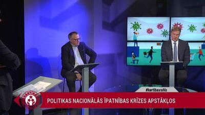 Valainis: Jādara viss, lai Latvijai izeja no krīzes nekļūtu par traģēdiju