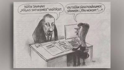 """Aplūko: karikatūra par """"Rīgas Satiksmes"""" skandālu!"""