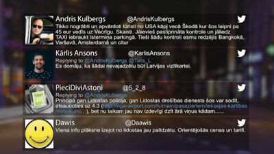 Tvitersāga: Latvijas vizītkarte?