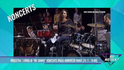 """Jau rītvakar: orķestra """"Lords of the Sound"""" koncerts Rīgas kongresu namā!"""