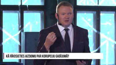 Smiltēns par korupciju Rīgas domē