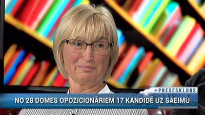 """Ingrīda Circene: """"Ja tu esi opozīcijā, tad tu vari tikai pariet!"""""""