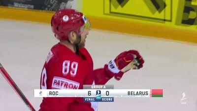 Spilgtākie momenti: Krievija pret Baltkrieviju