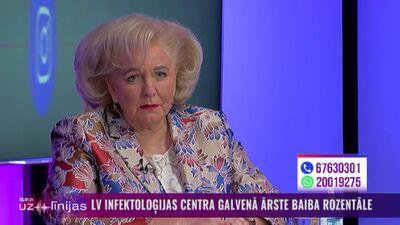 Rozentāle: Latvija saņēmusi pret Covid-19 vīrusa preparātu