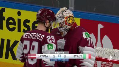 Spilgtākie momenti: Latvija pret Itāliju