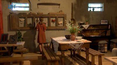 Raiņa mājā Berķenelē durvis vērusi Pliekšānu klēts