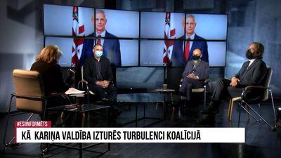 Vai Kariņa valdība izturēs turbulenci koalīcijā?