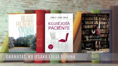 Grāmatas, ko iesaka Līvija Dūmiņa