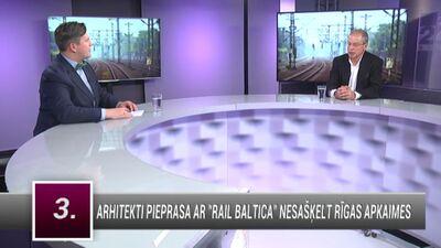 """Ameriks: """"Rail Baltica"""" ir vajadzīgs, bet pietiktu ar ātrgaitas tramvaju no stacijas līdz lidostai"""