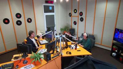 VAKARA SPORTA STUNDA: Studijā Pasaules rallijkrosa čempionāta rīkotāju pārstāvis Unbedahts