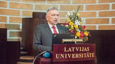 Lēmums par LU rektoru bija juridiski pamatots, apgalvo Jurašs