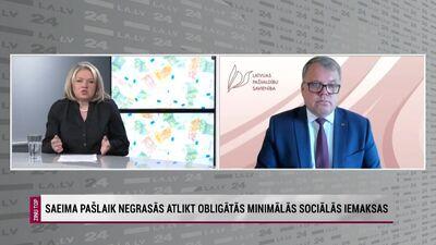 Kaminskis: Jauno obligāto minimālo sociālo iemaksu principu jāievieš pakāpeniski