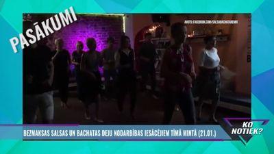 Nenokavē: bezmaksas salsas un bačatas deju nodarbības iesācējiem!