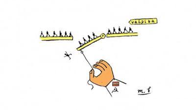 Ieskaties: svaigākie Latvijas notikumi karikatūrās!