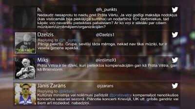 Tvitersāga: Atbalsts mūziķiem