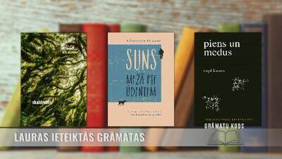 Grāmatas, ko iesaka rakstniece Laura Vinogradova