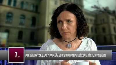 Šuplinska skaidro, kāpēc nolēmusi pievērst padziļinātu izpēti LU rektora vēlēšanām