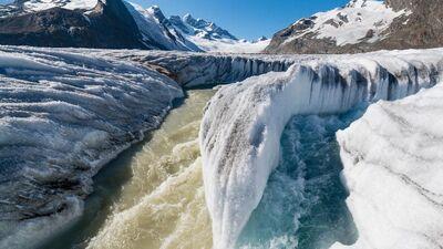 Eiropas kalnos zūd ledāji