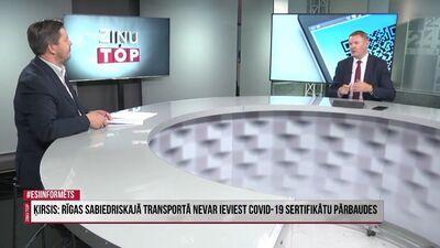 Smiltēns: Sabiedriskajā transportā nevar fiziski izkontrolēt pasažierus