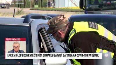 Epidemiologs komentē šībrīža situāciju Latvijā saistībā ar Covid-19 pandēmiju