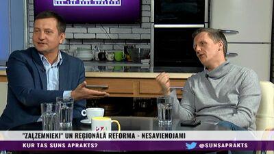 """""""Viņi vispār ar galvu domā?"""" Krauze pret Jaunupu. Reģionālā reforma"""