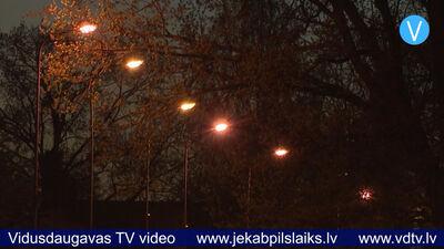 Jēkabpilī uzlabos ielu apgaismojuma sistēmu