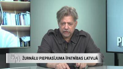Ainis Saulītis stāsta, kā ar domubiedriem ieviesa dzelteno presi Latvijā