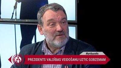 Rozenvalds par Gobzema izredzēm palikt premjera amatā
