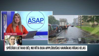 Kādi prevencijas pasākumi veikti, lai stipra lietus laikā novērstu ielu applūšanu Rīgā?
