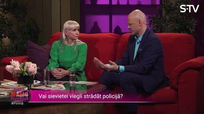 Ļena Keine-Kaštaļjana par kuriozu situāciju policijas darbā
