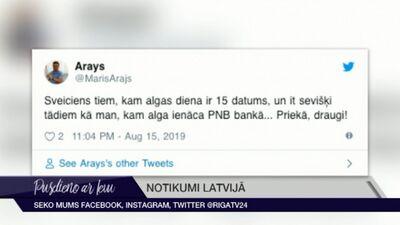 Tvītotāji par PNB bankas slēgšanu