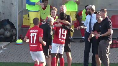Optibet futbola Virslīga: Valmiera FC - Spartaks. Spēles ieraksts