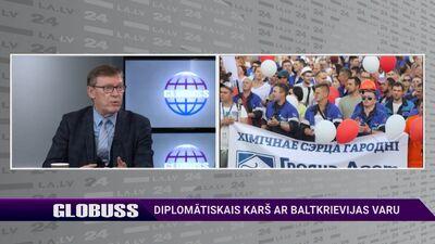 Einārs Semanis par diplomātisko karu ar Baltkrievijas varu
