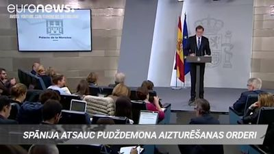 Spānija atsauc Pudždemona aizturēšanas orderi