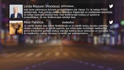 Tvitersāga: Protesti Baltkrievijā
