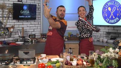 Dejotāja Ilvija apbur Roberto ar flamenko deju!