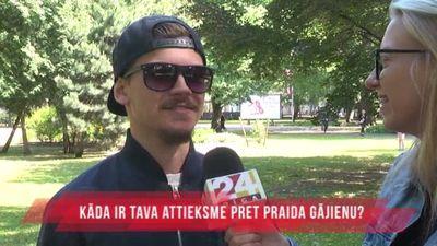Kāda ir sabiedrības attieksme pret 9. jūnija praida gājienu Rīgas centrā?