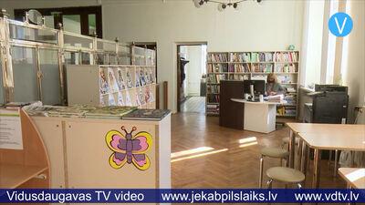 Jēkabpils pilsētas bibliotēkas Bērnu un jauniešu apkalpošanas nodaļa – jaunās telpās