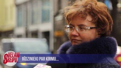 Iedzīvotāji dalās ar viedokļiem par Krimā notiekošo