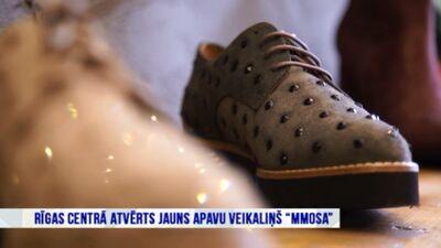"""Rīgas centrā atvērts jauns apavu veikaliņš """"MMOSA"""""""