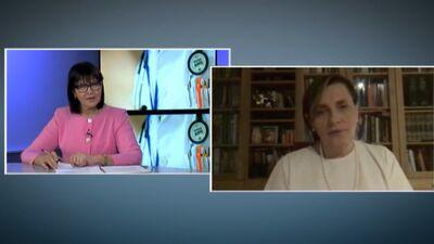 Ilze Aizilniece atbild uz jautājumu par Covid-19 pacientu šķirošanu