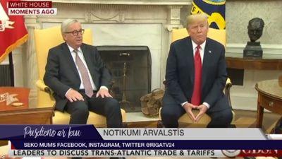 Tramps asi kritizē Mejas darbību Brexit sarunās