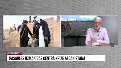 Speciālizlaidums: pasaules uzmanības centrā krīze Afganistānā 2. daļa