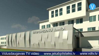 Būvnieki izrāda interesi par darbiem Jēkabpils slimnīcā