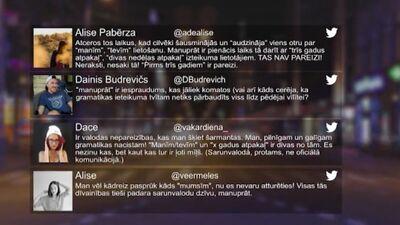 Tvitersāga: Valodas nepareizības