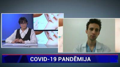 Kārlis Rācenis par jauno Covid-19 paveidu Latvijā