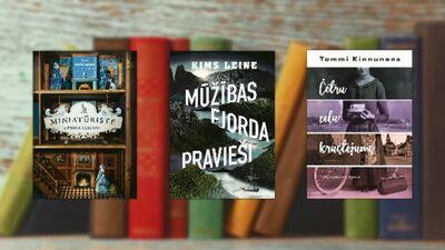 Grāmatas, ko iesaka rakstniece Inguna Bauere