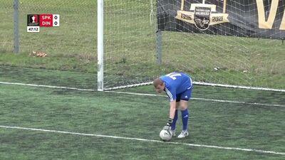 Atbildīgas spēles Latvijas kauss futbolā. Astotdaļfināls: FK Spēks - FK Dinamo Rīga
