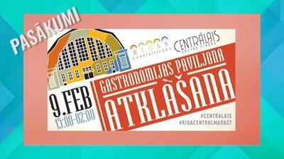 Šodien: Gastronomijas paviljona atklāšana!